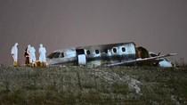 Patah Jadi Dua, Ini Penampakan Jet Pribadi yang Jatuh di Istanbul