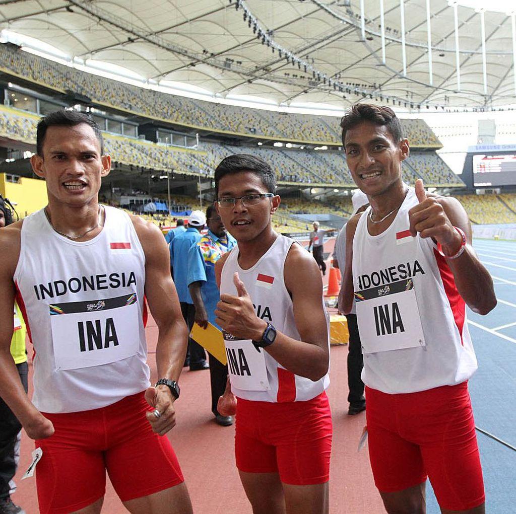 Koleksi 40 Emas, Indonesia Juara Umum Atletik