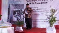 Bupati Puji CT ARSA Foundation yang Bangun SMA Unggulan di Sukoharjo