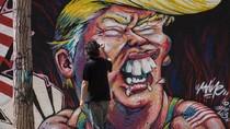Foto: Mural Anti Donald Trump di Berbagai Negara