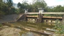 Kekeringan, Debit Air DAM Sungai di Trenggalek Turun Drastis