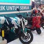 Motor dan Gerobak Listrik Mejeng di IBD Expo