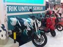 Motor dan Gerobak Listrik Mejeng di IDB Expo