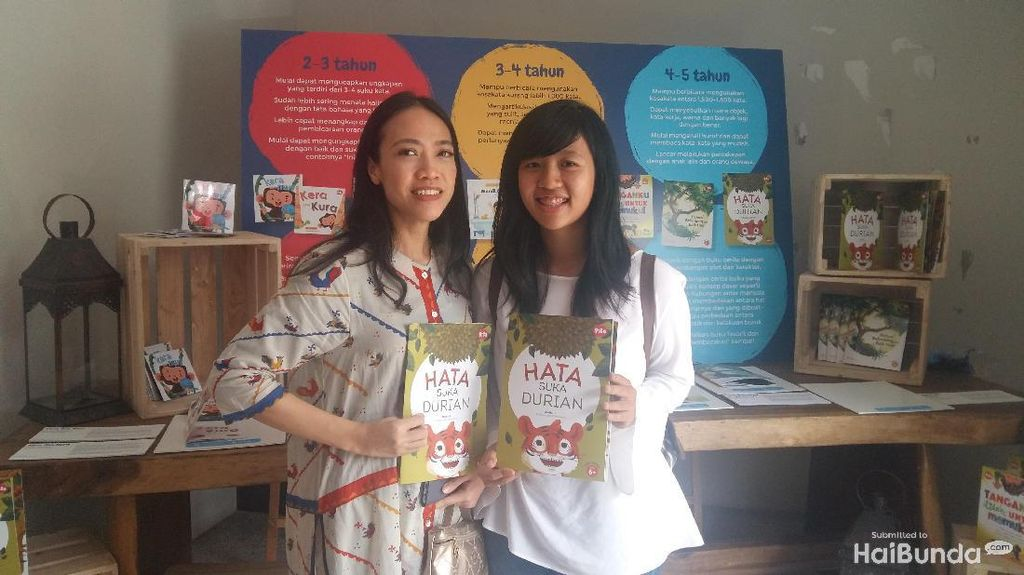 Buah Hatiku Jadi Inspirasiku Menulis Buku Cerita Anak