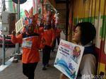 Peduli Pejalan Kaki, Warga Kota Mojokerto Diajak Trip Trotoar