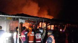 Polisi Pastikan Tak Ada Korban di Kebakaran Pasar Benpas