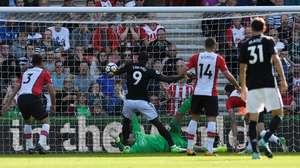MU Unggul 1-0 atas Southampton di Babak Pertama