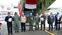 TNI AU dan BNPB Kirim 20 Ton Bantuan ke Myanmar untuk Rohingya