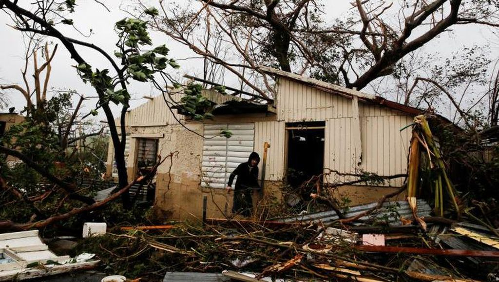 Puerto Riko Luluh Lantak karena Badai Maria