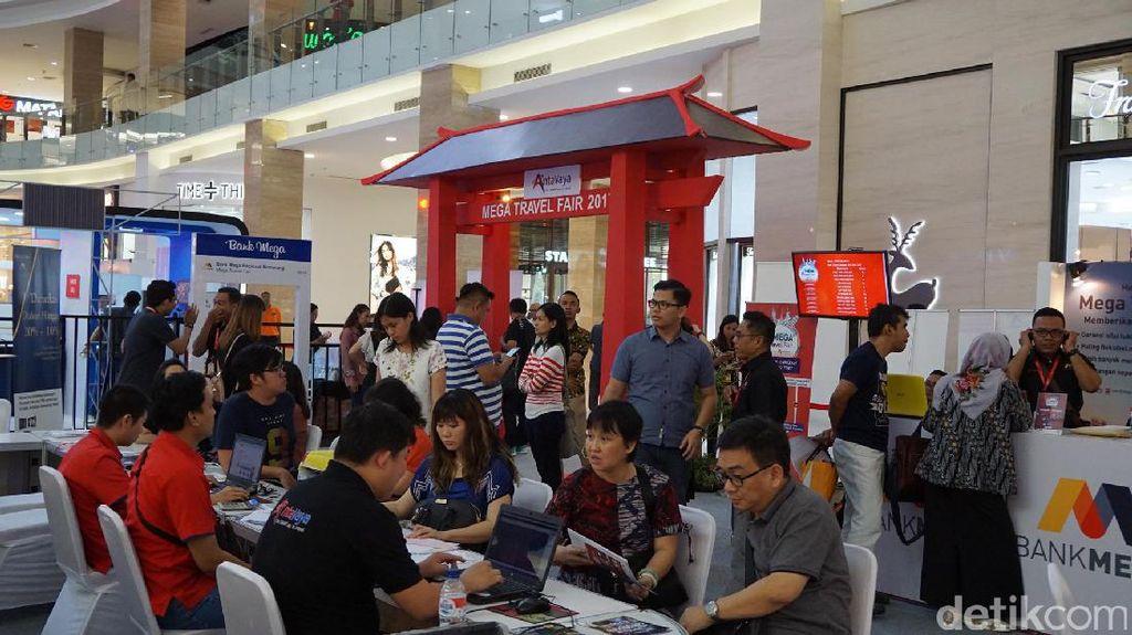 Ada Paket Tahun Baru Murah di Mega Travel Fair Yogya