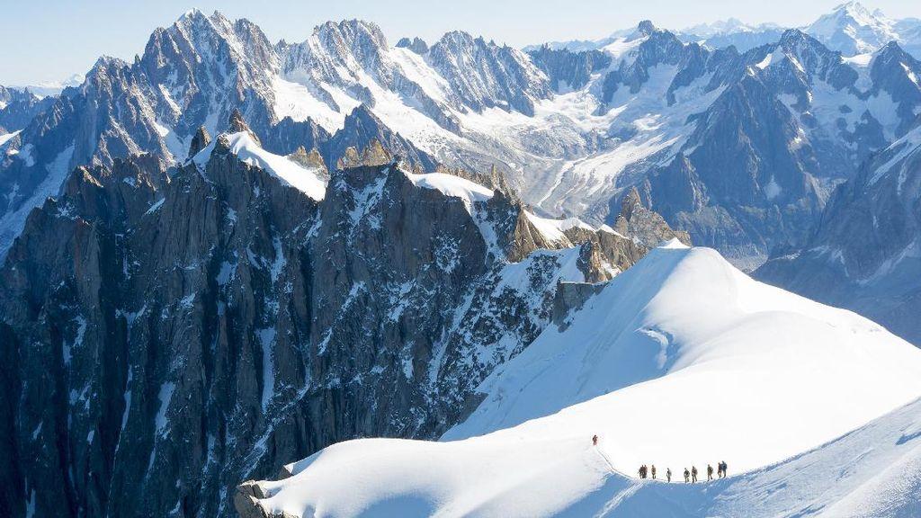 Mont Blanc, Gunung Tertinggi Eropa yang Tak Selalu Ramah