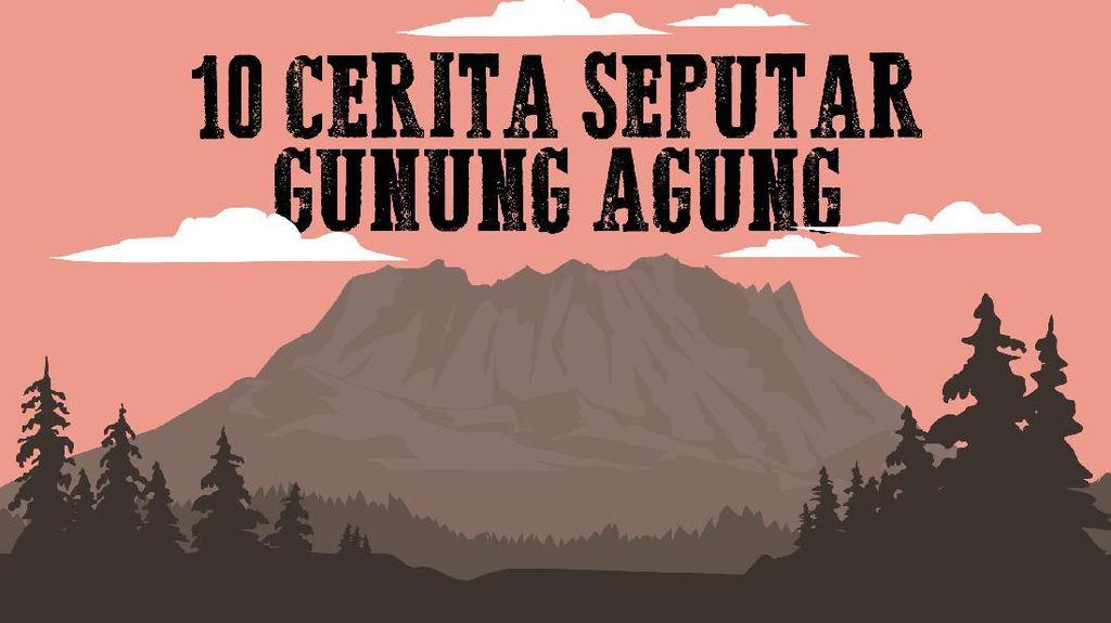Mendaki Gunung Agung, Bawa Sesaji dan Dilarang Bersepatu