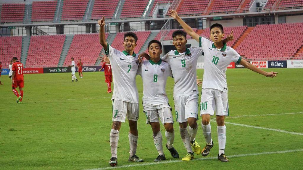 Timnas U-16 Sempurna di Kualifikasi Piala Asia
