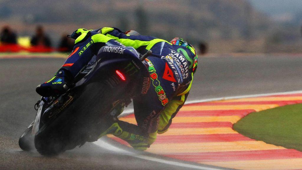 Ini Kata Rossi Usai Kembali ke Atas Motor MotoGP