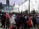 Video Saat JCC Dipadati Ratusan Pencari Kerja di Akhir Pekan