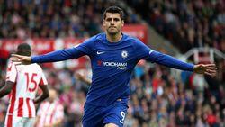 Morata Hat-trick, Chelsea Gilas Stoke 4-0