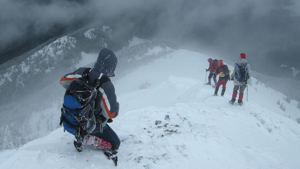 Mengenal Badai Salju di Mont Blanc