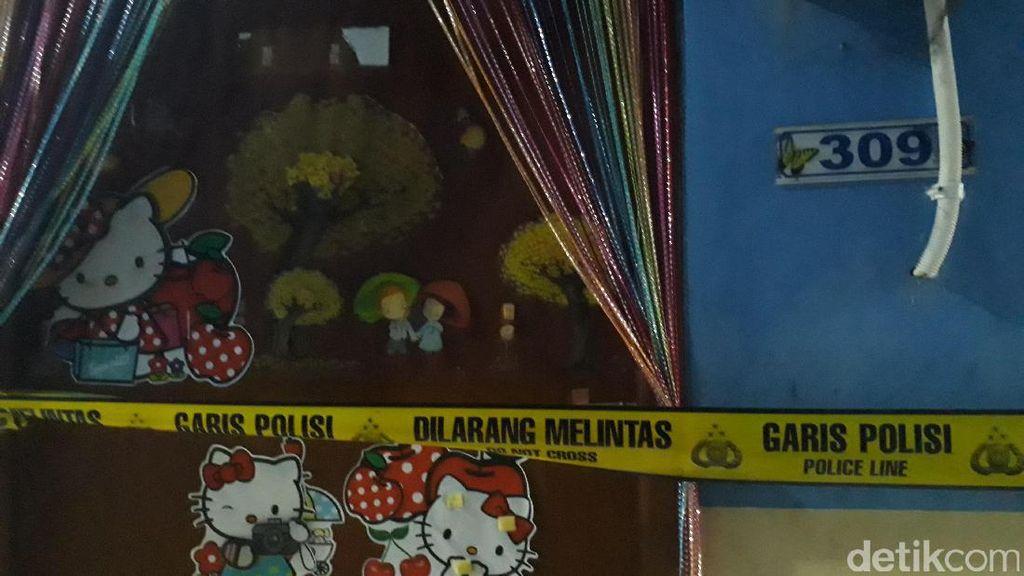 Masih Digaris Polisi, Ini Kosan Murti yang Dibunuh Agus Lee Min Ho