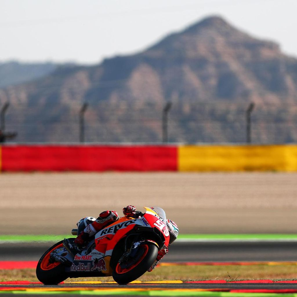 Marquez Juara di Aragon, Pebalap Spanyol Kuasai Podium