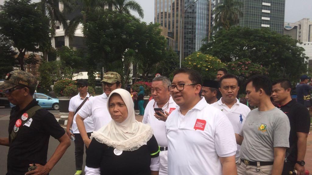Fadli Zon, Tommy Soeharto Hingga Ahmad Dhani Jalan Santai di CFD
