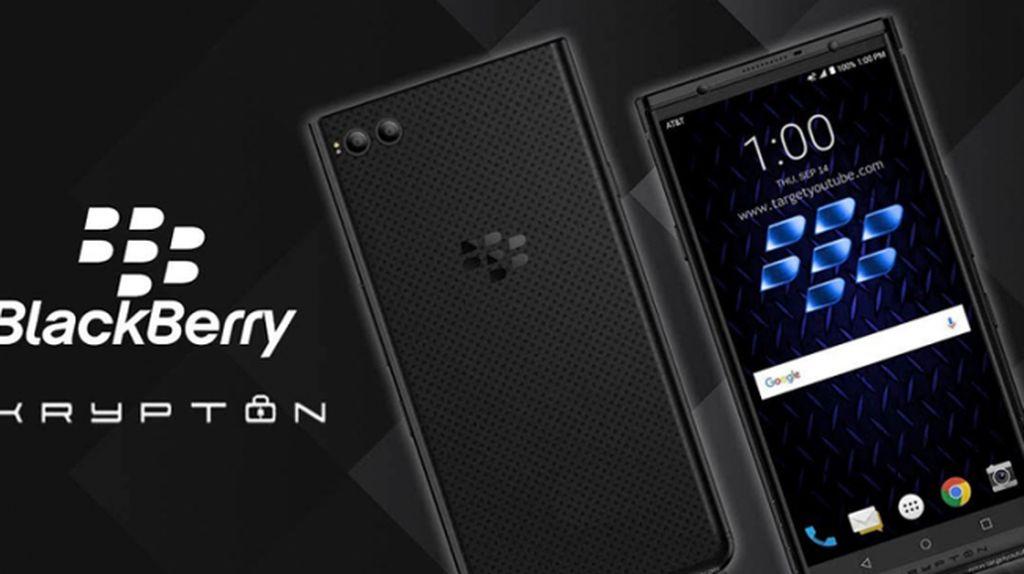 Inikah Wujud BlackBerry Krypton?