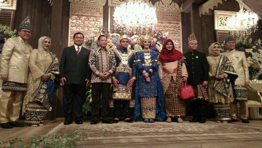 SBY dan Prabowo Juga Hadir di Resepsi Putra Zulkifli Hasan