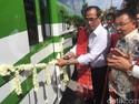 Resmikan Bus Trans Binjai, Menhub: Ini Inisiatif yang Bagus