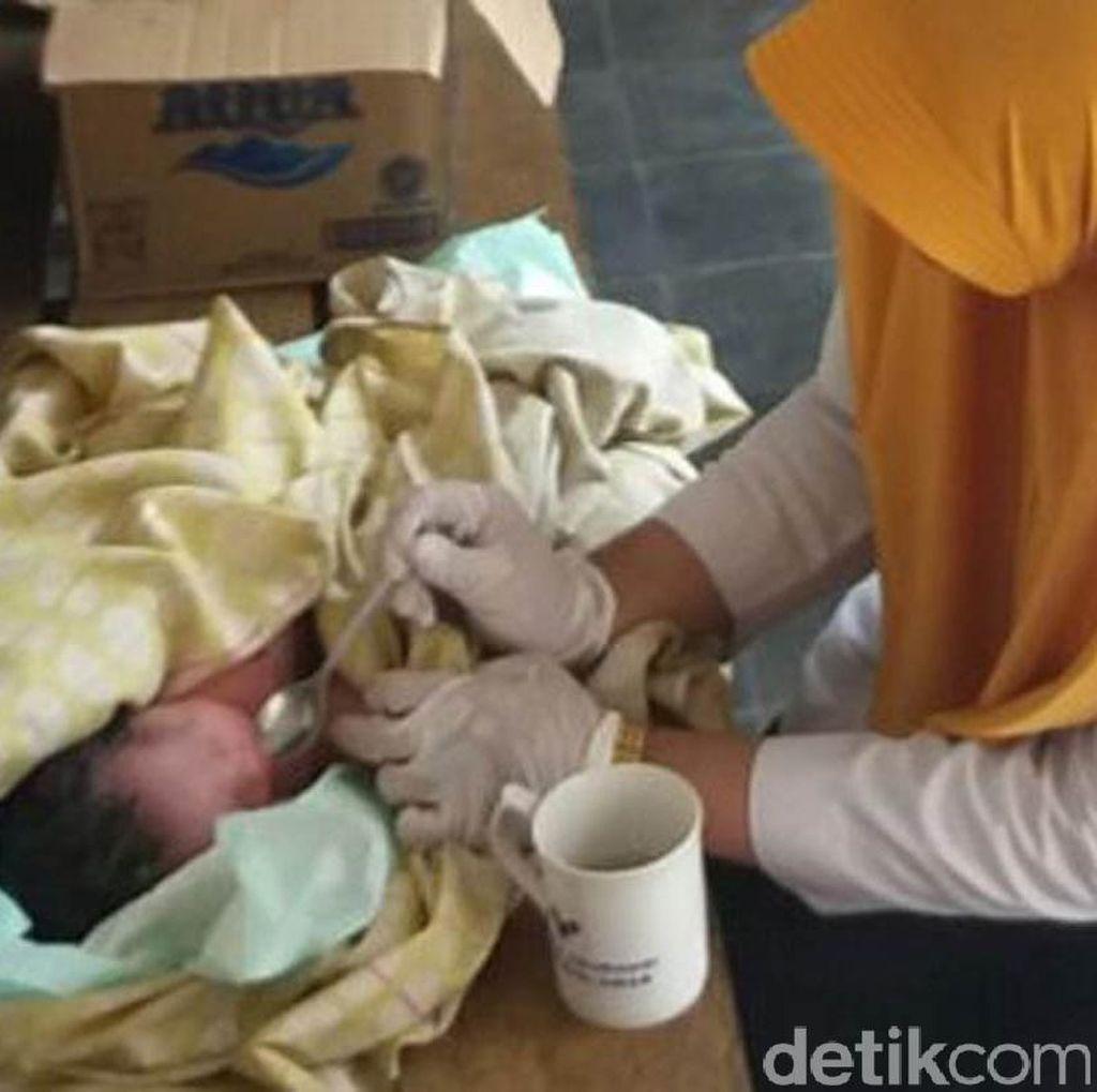 Duh Teganya! Bayi Sengaja Dibuang di Pati