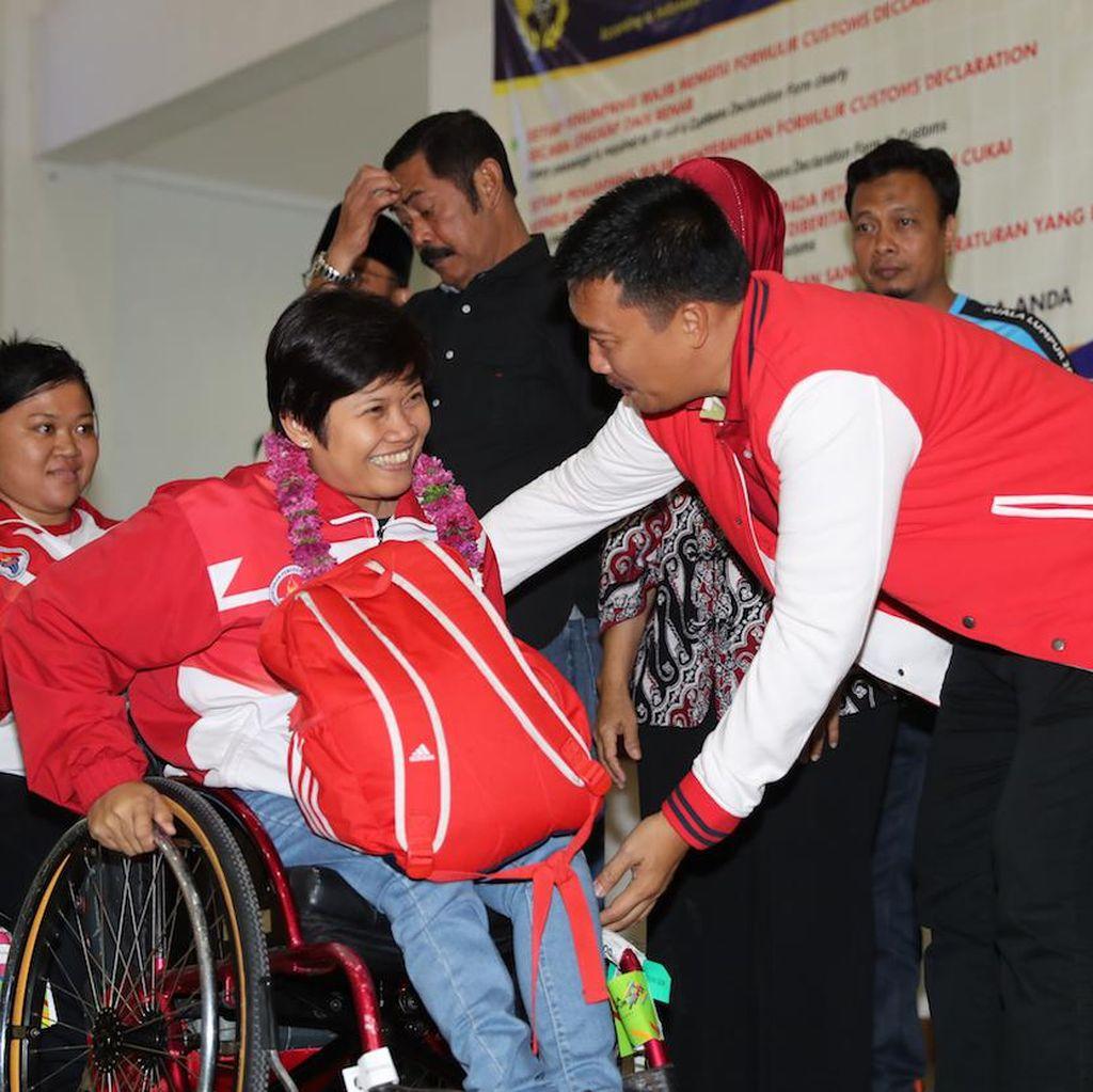 Sambutan Meriah untuk Para Juara ASEAN Para Games 2017