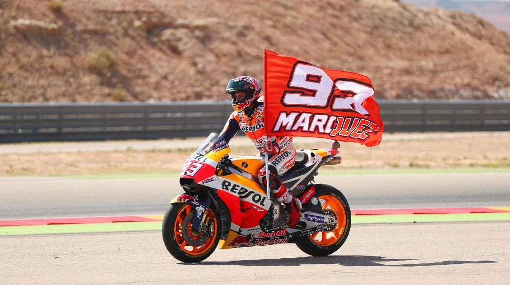 Klasemen MotoGP: Marquez Mulai Jauhi Dovizioso