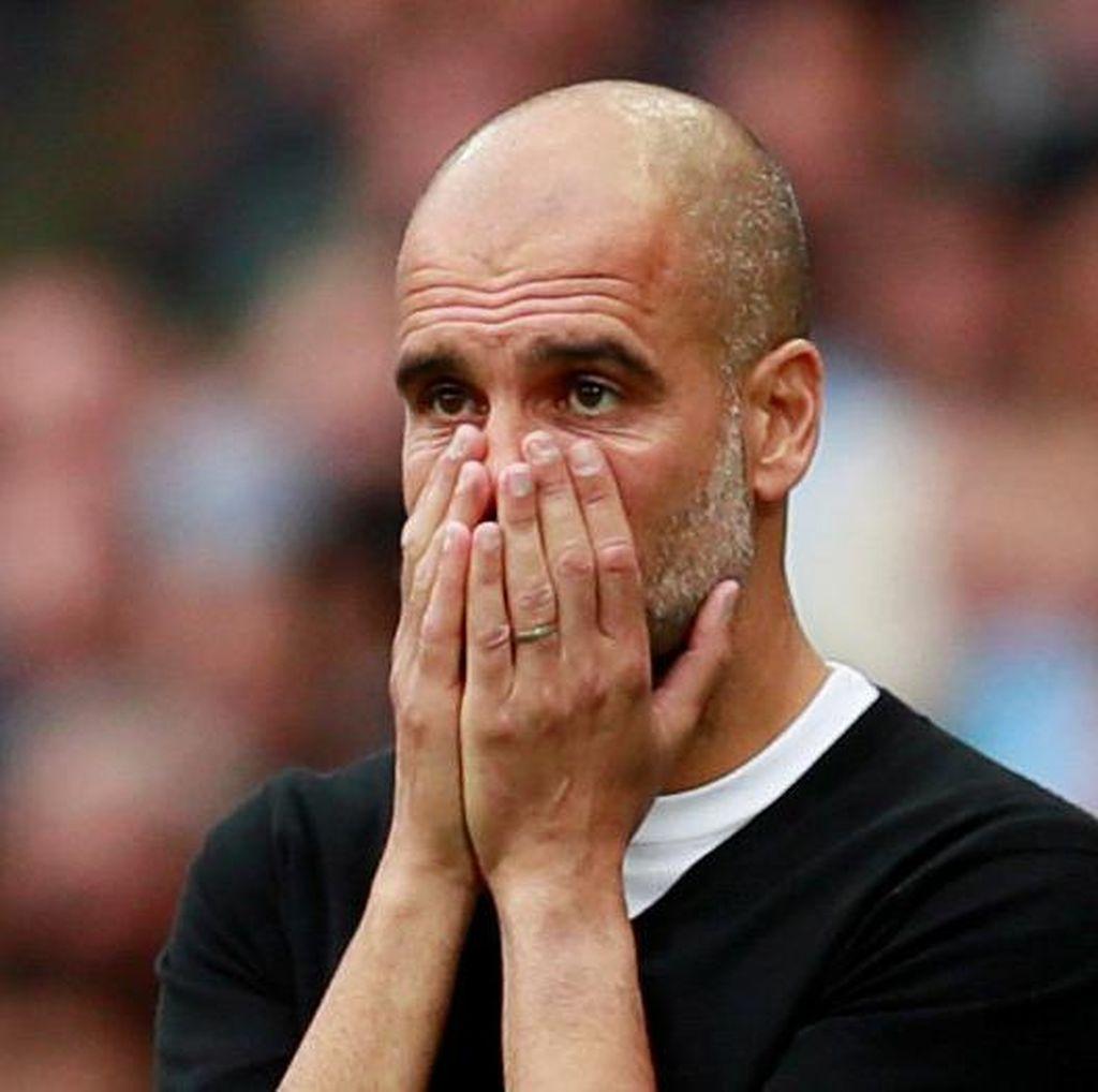 Aksi dan Emosi Pep Guardiola: Beri Instruksi ke Ball Boy Sampai Tendang Bangku