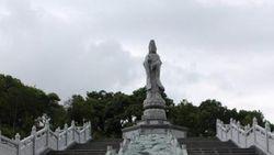 Tahu Tidak, Belitung Punya Patung Dewi Kwan Im Raksasa