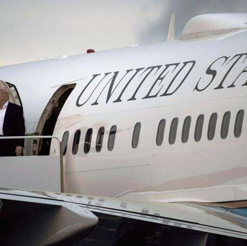 Pesawat Kepresidenan Air Force One ala Donald Trump