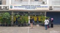 KPK Geledah Kantor Dinas Penanaman Modal Kota Cilegon