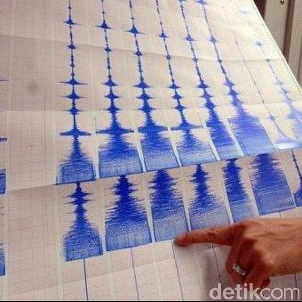 Gempa 5,5 SR Guncang Tenggara Bengkulu Utara