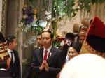 Presiden Jokowi Hadiri Resepsi Pernikahan Putra Ketua MPR