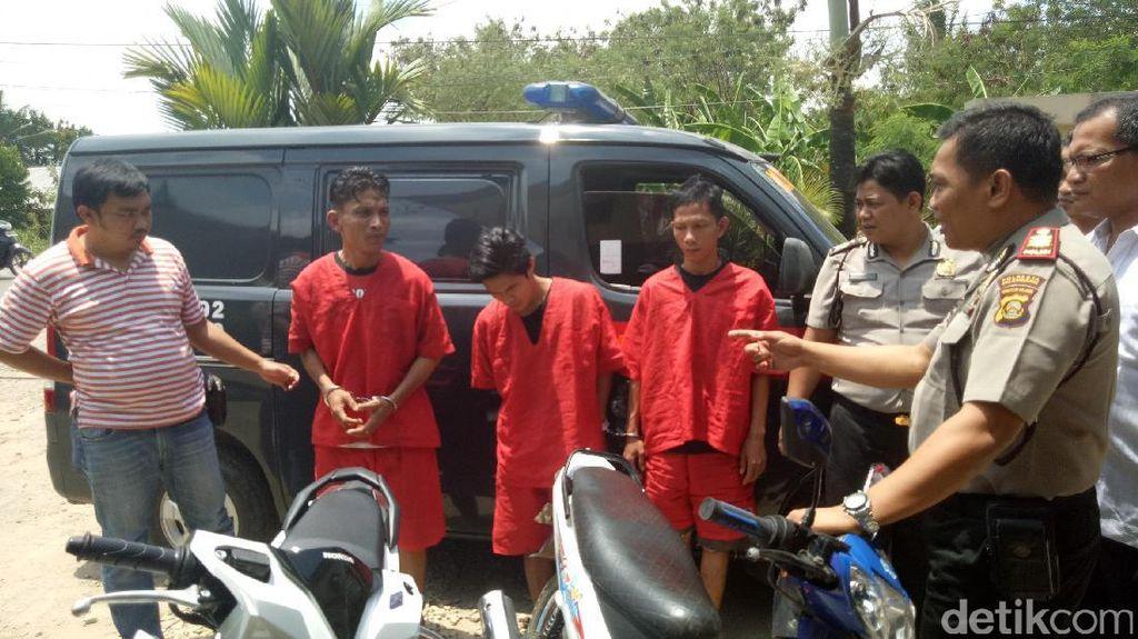 Curanmor Spesialis Kosan di Palembang Ditangkap
