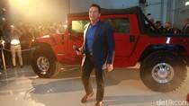 Arnold Schwarzenegger Perkenalkan Hummer H1 Pertama Pakai Listrik