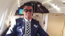 Foto: Mengintip Jet Pribadi Mewah Cristiano Ronaldo