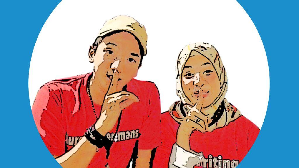Ssstt! Ge Pamungkas dan Natasha Rizki Saling Bongkar Rahasia