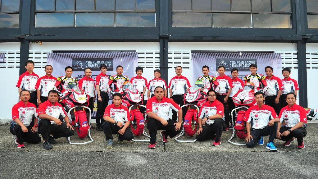 Tim AHRT Kunci Gelar Juara ARRC 2017 Kelas AP250