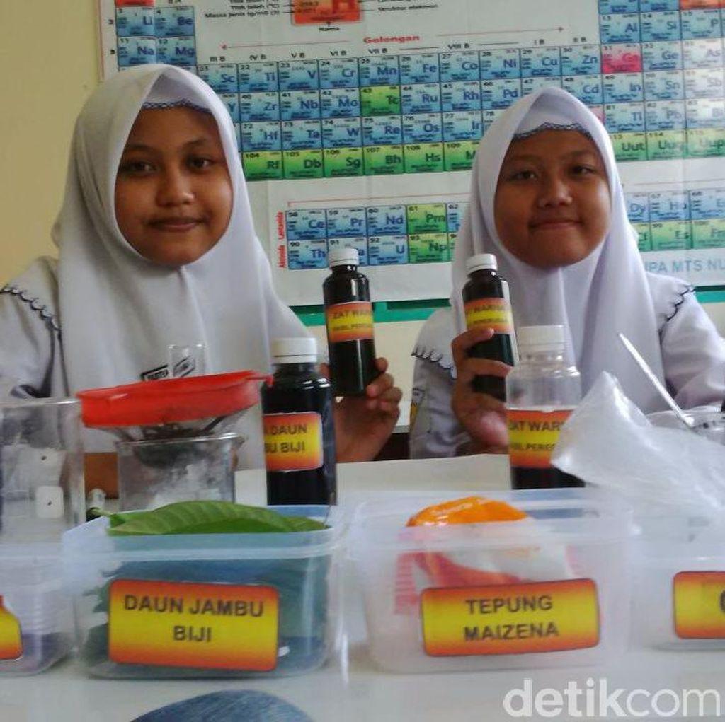 Dua Pelajar Ini Ciptakan Tinta Spidol dari Daun Jambu Biji