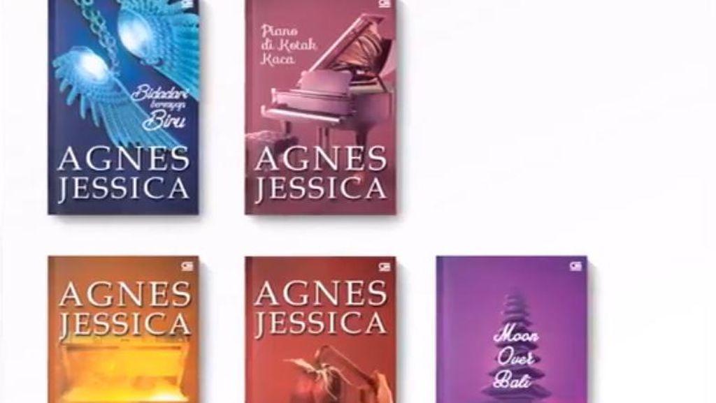 Agnes Jessica Rilis 5 Judul Novel Hari Ini