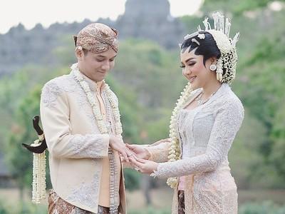 Ini Taman Cantik di Borobudur Tempat Pernikahan Vicky Shu