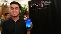 Pemindai Wajah Vivo V7+ Super Aman dari Tangan Jahil