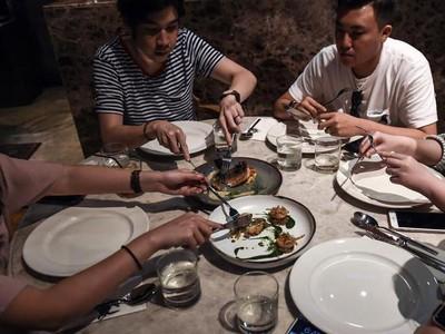 Foto: Sajian Serangga di Restoran Mewah Thailand