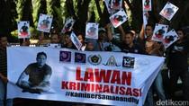Aksi Solidaritas di Lhokseumawe, Minta Polisi Stop Kasus Dandhy