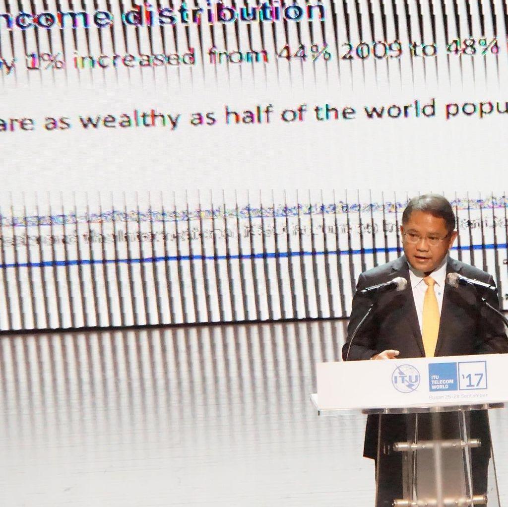 Di Panggung ITU, Menkominfo Ajak Dunia Maksimalkan UMKM