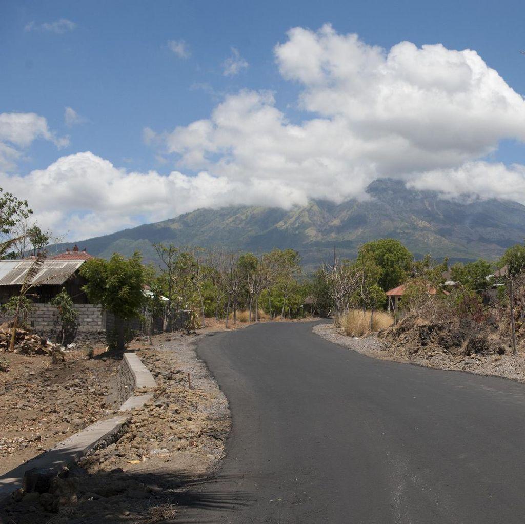 Gempa Terbaru di Gunung Agung Capai 4,2 SR, Terasa sampai Gianyar