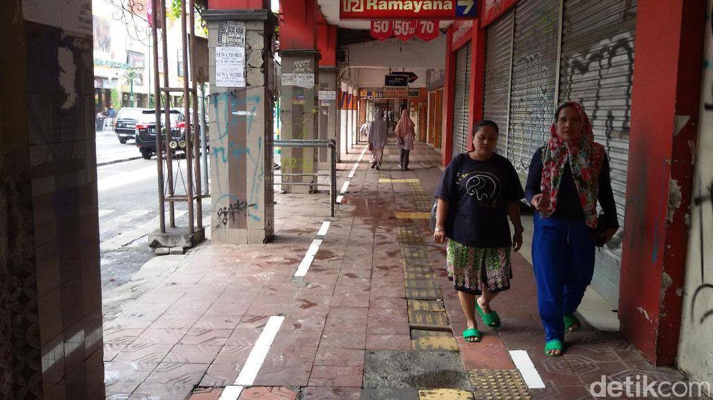 Foto: Malioboro 'Polos' Tanpa Pedagang Kaki Lima, Seperti ini Jadinya